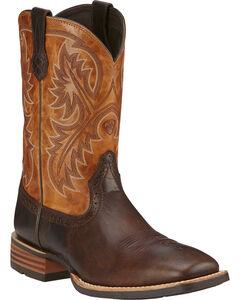 Ariat Quickdraw Cowboy Boots - Square Toe, , hi-res