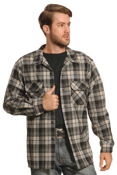 Pendleton Men's Grey Plaid Board Shirt , , hi-res