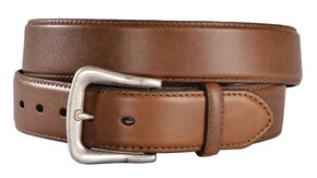 Nocona Basic Leather Belt, Brown, hi-res