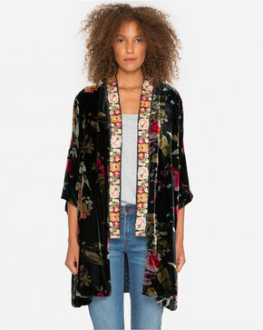 Johnny Was Women's Kehlani Kimono , Multi, hi-res