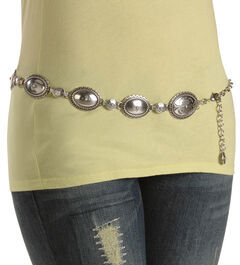 Tony Lama Classic Chain Belt, , hi-res