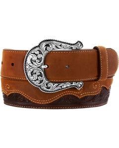 Justin Women's Floral Divine Leather Belt, , hi-res