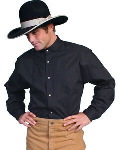 Wahmaker by Scully Tone on Tone Dobby Stripe Long Sleeve Shirt, , hi-res