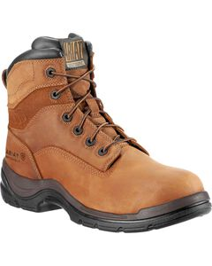 "Ariat Flex Pro Waterproof 6"" Lace-Up Work Boots - Composition Toe, , hi-res"