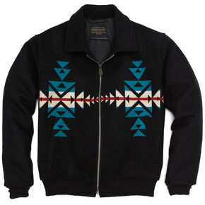 Pendleton Men's Black Santa Fe Jacket, Black, hi-res