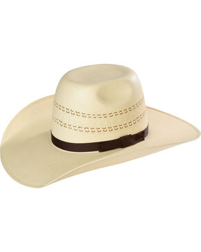 Resistol Men's Childress Promo Straw Hat , Natural, hi-res