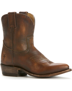 Frye Women's Billy Short Boots, Dark Brown, hi-res