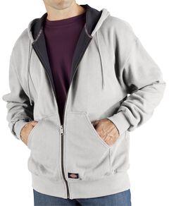 Dickies Midweight Fleece Zip-Up Hooded Work Jacket, , hi-res