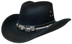 Jack Daniels Black Crushable Hat, , hi-res