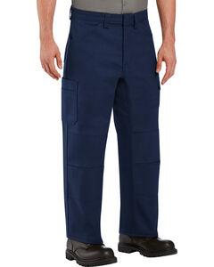 Red Kap Men's Navy Performance Shop Pants , , hi-res