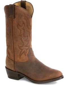 Durango Leather Cowboy Boots, , hi-res