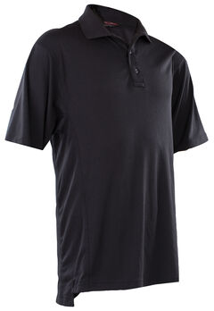 Tru-Spec Men's Black 24-7 Dri-Release Polo Shirt , , hi-res