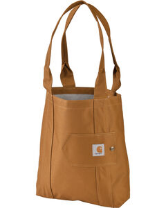 Carhartt Legacy Women's Brown Essential Tote, , hi-res