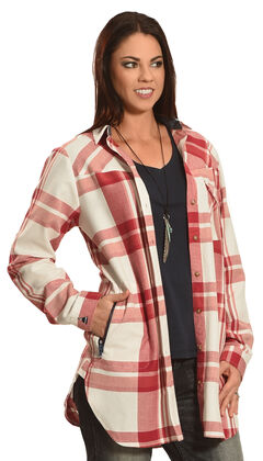 Tasha Polizzi Women's Plaid Highland Country Shirt , , hi-res