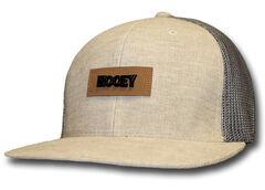 HOOey Men's Chord Tan & Grey Trucker Hat  , , hi-res