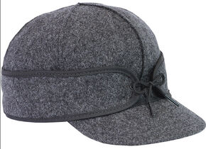 Stormy Kromer Men's Mackinaw Cap, Charcoal Grey, hi-res