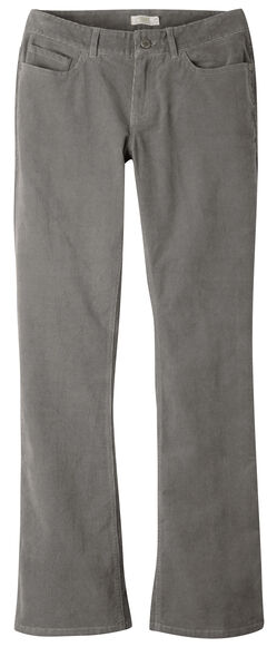 Mountain Khakis Women's Canyon Cord Slim Fit Pants, Dark Grey, hi-res