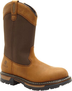 Rocky Ride Insulated Waterproof Wellington Work Boots, , hi-res