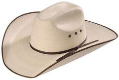 5X Hereford Straw Cowboy Hat, , hi-res