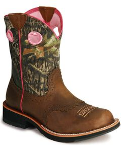 Ariat Camo Fatbaby Cowgirl Boots, , hi-res