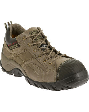 Caterpillar Women's Argon Work Shoes - Composite Toe , Grey, hi-res