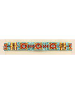 Blazin Roxx Beaded Southwest Headband, , hi-res