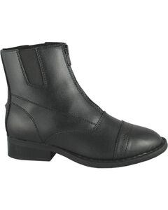 Smoky Mountain Youth Zipper Paddock Boots, , hi-res