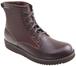 Eastland Men's Dark Walnut Adrian Plain Toe Boots, Brown, hi-res