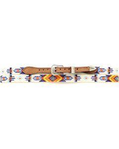 Aztec Beaded Hat Band, , hi-res