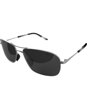 Bex Men's Carter II Polarized Silver/Grey Sunglasses, Silver, hi-res