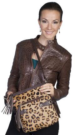 Scully Cheetah Print Shoulder Bag, , hi-res