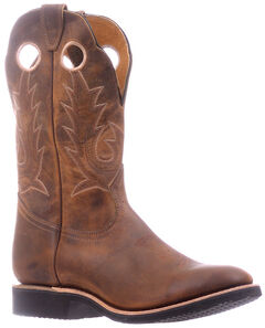 Boulet Hillbilly Golden Extralight Cowboy Boots - Round Toe , , hi-res