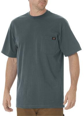Dickies Men's Short Sleeve Heavyweight T-Shirt - Big & Tall, Green, hi-res