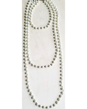 Jewelry Junkie Women's Multi-Strand Pearl Necklace, White, hi-res