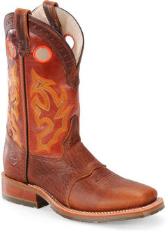 Double H Men's Roper Buckaroo Western Boots - Square Toe, , hi-res