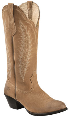 Ariat Driftwood Brown Desert Sky Cowgirl Boots - Round Toe, , hi-res