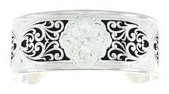 Montana Silversmiths Cotton Garden Cuff Bracelet , , hi-res