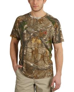 Carhartt Force Delmont Camo Short Sleeve Shirt, , hi-res