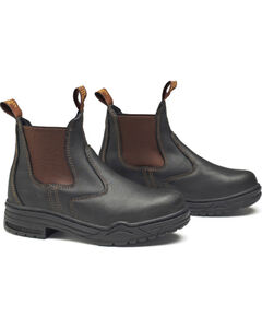 Mountain Horse Women's Protective Jod Shoes, Brown, hi-res