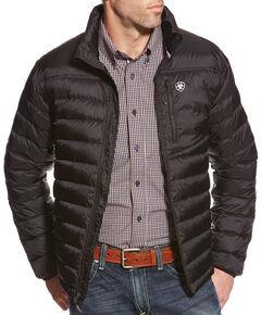 Ariat Men's Jet Black Ideal Down Jacket , , hi-res
