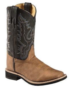 Swift Creek Boys' Cowboy Boots - Square Toe, , hi-res
