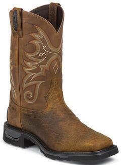Tony Lama Sierra Badlands TLX Western Waterproof Work Boots - Comp Toe , , hi-res