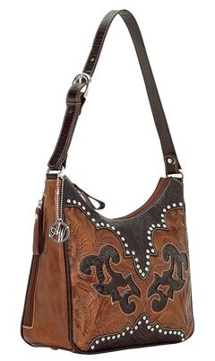 American West Annie's Secret Collection Concealed Carry Shoulder Bag, , hi-res