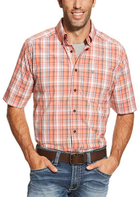 Ariat Men's Red Aaron Shirt, Red, hi-res
