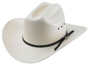Tony Lama Ranch Shantung Straw Cowboy Hat, Natural, hi-res