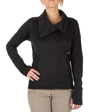 5.11 Tactical Women's Kinetic Full Zip Jacket , Black, hi-res