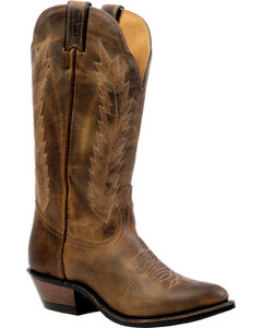 Boulet Hillbilly Golden Rider Sole Cowgirl Boots - Medium Toe, , hi-res