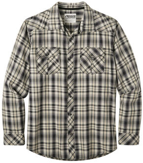 Mountain Khakis Men's Black Plaid Rodeo Long Sleeve Shirt , Black, hi-res