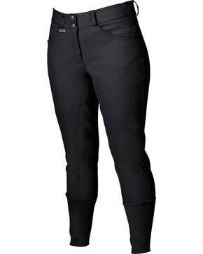 Dublin Women's Everyday Shapely Full Seat Breeches, Black, hi-res