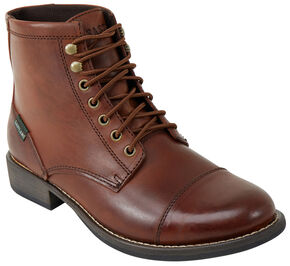 Eastland Men's Tan High Fidelity Cap Toe Boot , Tan, hi-res